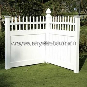 Cheap Vinyl Privacy Fence Panels,philippines Gates And Fences,pvc Portable  Fence Panel/