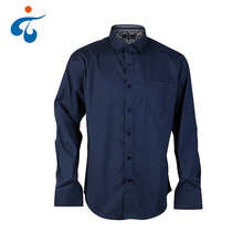 Professional fashion 100% cotton custom breathable men's formal dress shirt
