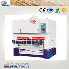 Helpful Brand Shandong Weihai Wide belt sander machine HD1100 Woodworking machine plywood sanding machine