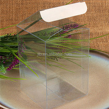 Chocolate/candy transparent Acrylic box packaging for kids