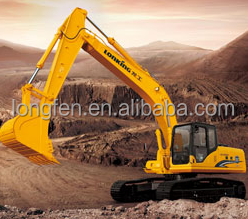 Lonking big capacity 22 ton long boom excavator for sale