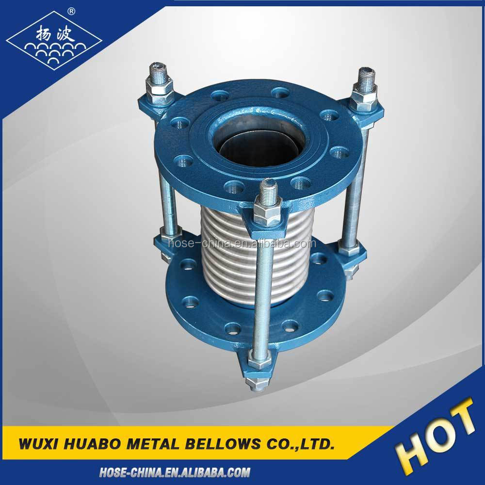 Yang bo flexible metallic metal escapement expansion joints in building