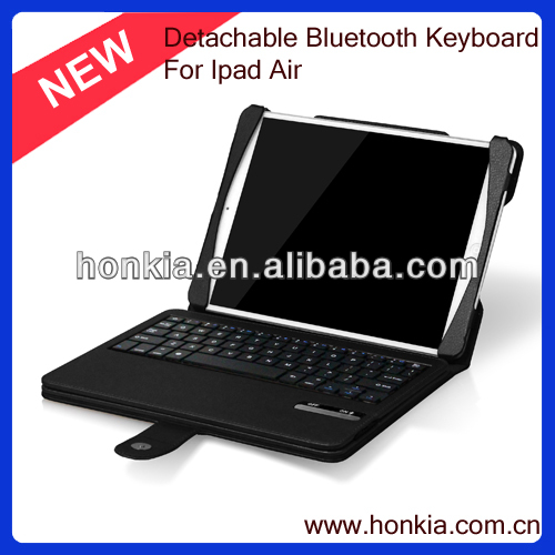 Newest Detachable Mini Bluetooth Wireless Keyboard for Ipad Air