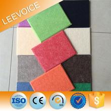 waterproof polyester acoustic panel polyester fiber acoustic board