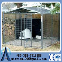 10x10x6 foot Heavy duty New design unique galvanized cheap chain link large dog kennels