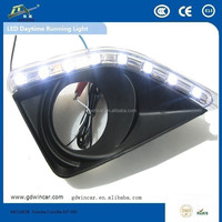 LED Lamp Type and tail light with turning signal DRL daytime running light for Toyota Corolla 2007 - 2009