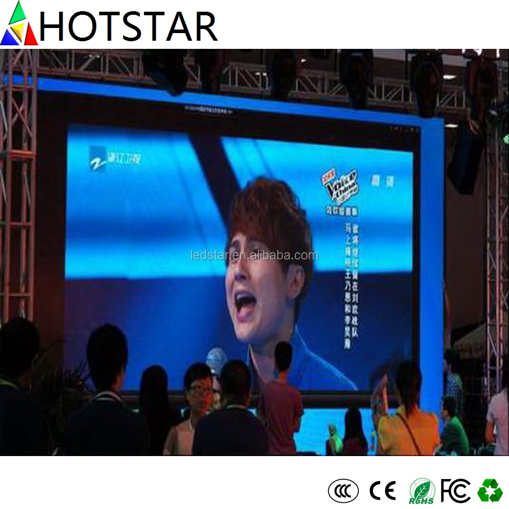 Hot Star Indoor rental electronic led panel P3
