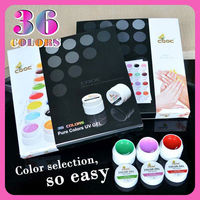 #3688X-01 Nail Art CANNI UV Color Gel, 36 Colors GD COCO UV Color Gel
