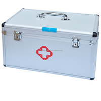 Shuangsheng factory price aluminum first aid box supplies