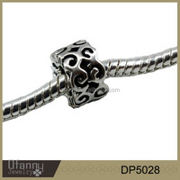 Antique silver wholesale cheap beads diy bracelet jewelry