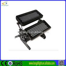 High Power IP65 Outdoor Waterproof Double Deck LED City Color RGBW 192*3w LED Wall Washer