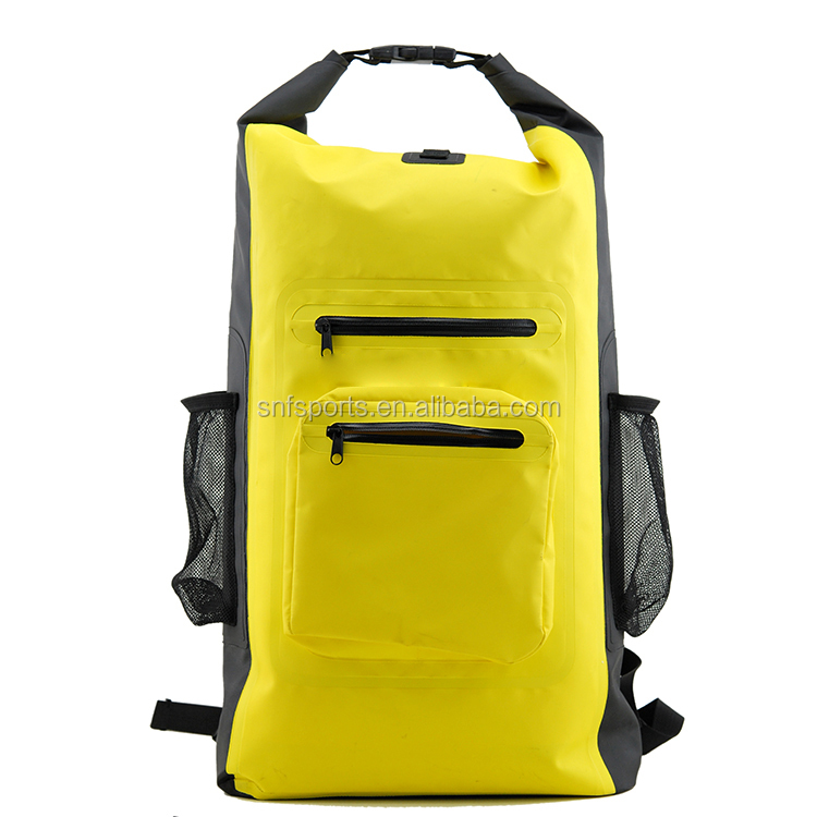 New Stylish Roll Top PVC Dry Bag Waterproof Backpack for Outdoor