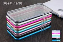 2 in 1 Aluminum+TPU case for iphone6 plus Metal Aluminum and TPU cover for Iphone 6 plus 5.5''