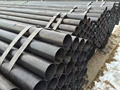 weld pipe black and galvanized from manufacture