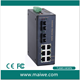 10/100M 8 port industrial ethernet switch 24V DC type