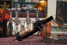 hot sale Metal Cradle Wine Holder wine bottle holder