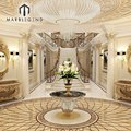 friendly price Dubai luxurious high end flooring carpet tile marble floor design pattern