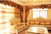 Very very luxury curtains elegant curtain