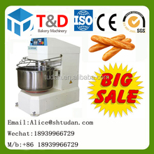 Hot sale--T&D bakery mixer machine China factroy wholesales price 200kg 150kg 100kg 25kg 50kg Industrial dough kneader