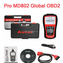 Best Professional Autel MD802 obdii obd scanner automotive universal Auto car diagnostic tools for 4 system+DS mode