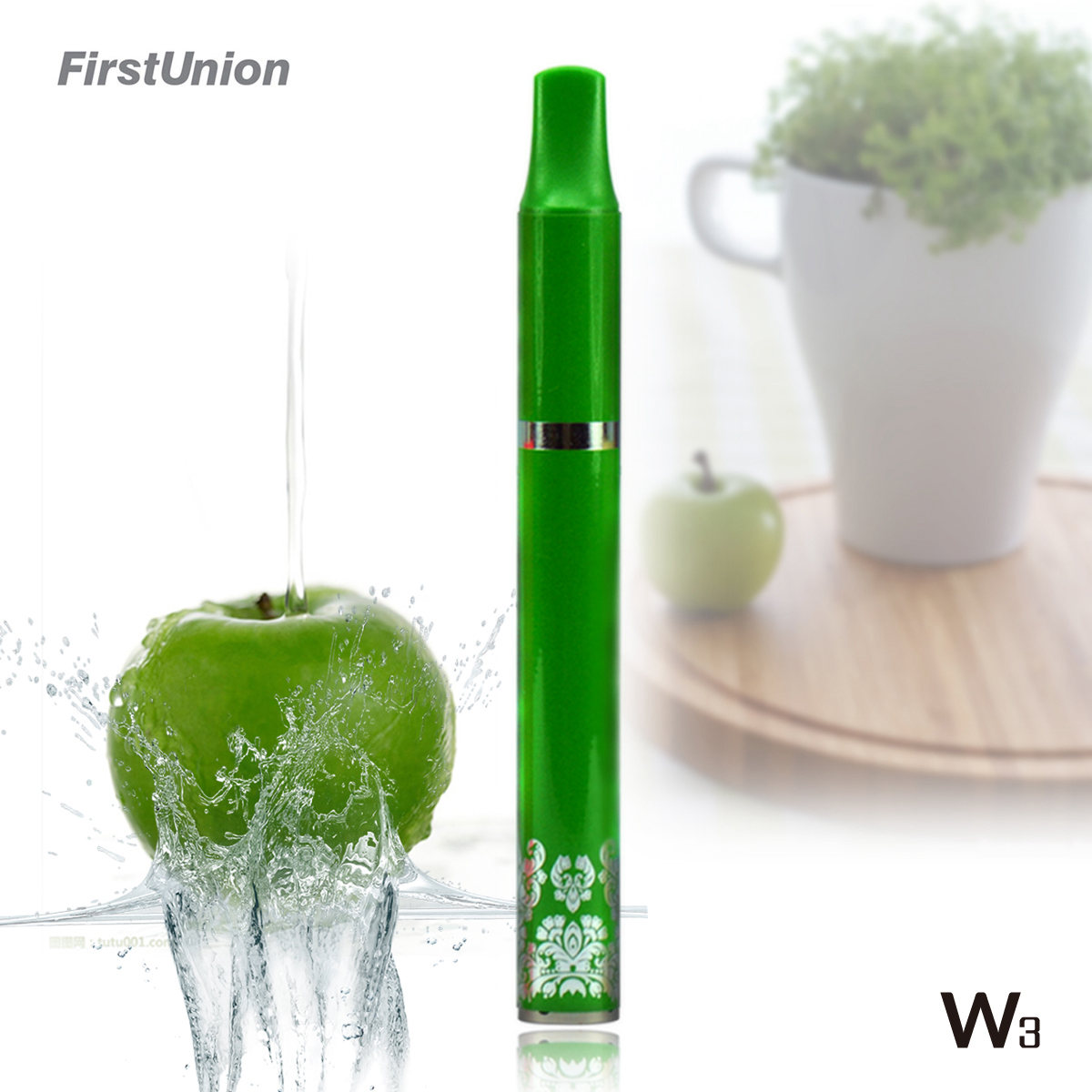 New revolutionary product the best e cigarette W3 1000puffs fresh fruit flavors ecig canada
