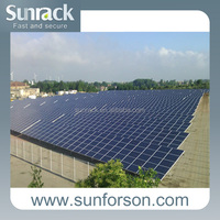 Solar Pile PV Mounting /Solar Pile Ground Mounting System/Pile Machine Installation Solar Pile Mount