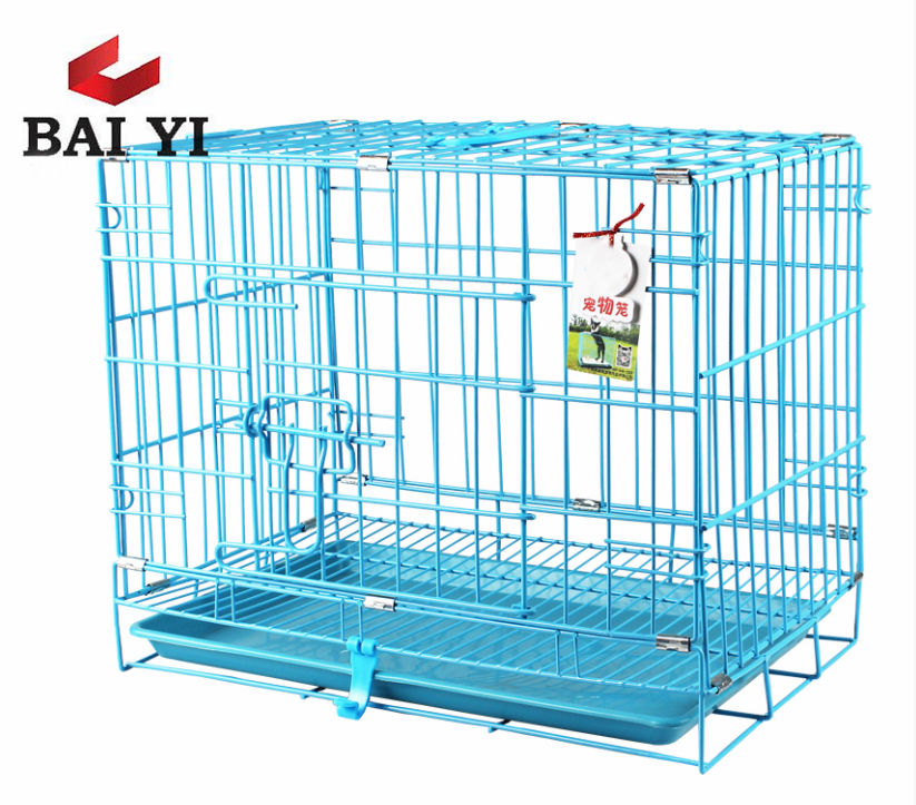 Stainless Steel or PVC Coated Pet Cages For Puppy