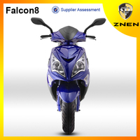 ZNEN Falcon8 gas scooter ,EEC, EPA, DOT eletric scooter and motorcycle with free parts