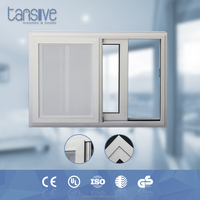 2016 top supplier Tansive construction aluminium mosquito net window