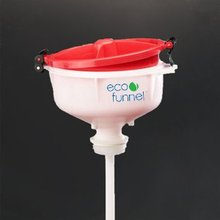"8"" ECO Funnel with 2"" drum opening (coarse thread) cap adapter"