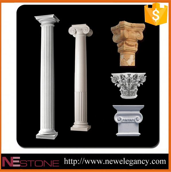 2017 Guangzhou Factory hot sale natural faux columns