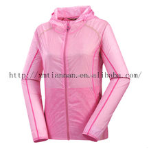 Women skin jacket UV protection lightweight summer jacket ladies athletic apparel manufacturers