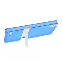 For Huawei Ascend P6 Flexible Soft Gel TPU Silicone Slim With Stand Back Cover