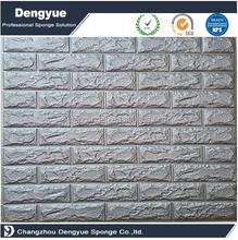 High Quality Self Adhesive 3D Brick PE Foam Wall Panel Easy-cleaning DIY Bricks Wallpaper