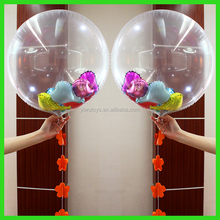 non toxic cartoon helium funny transparent balloon