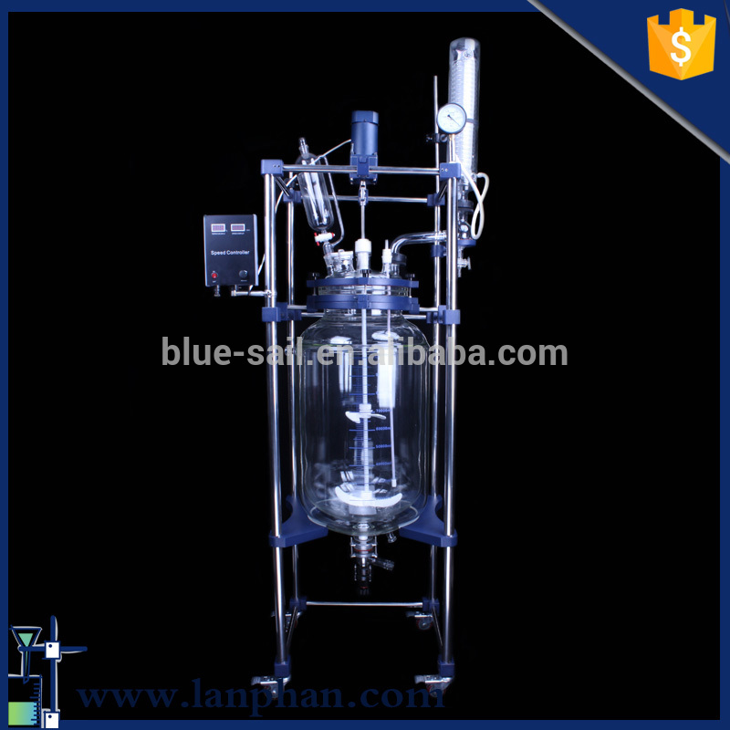 2016 glass reaction equipment for university chemistry research