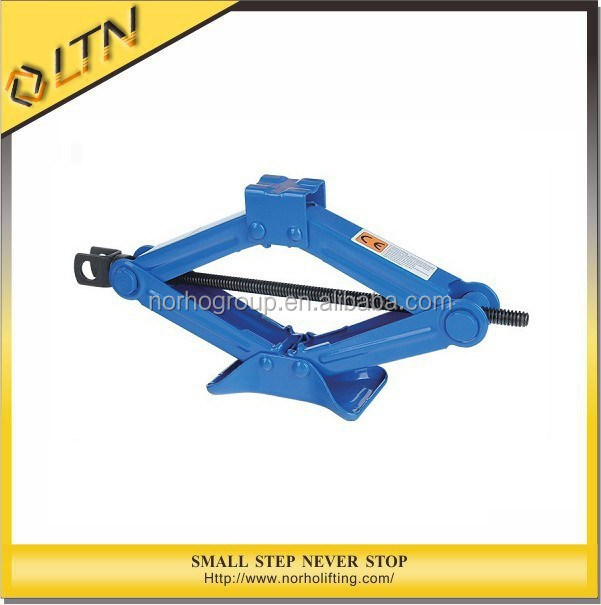 CE GS TUV Approved High Quality 1-2T Manual Scissor Screw Jack/Crank Jack