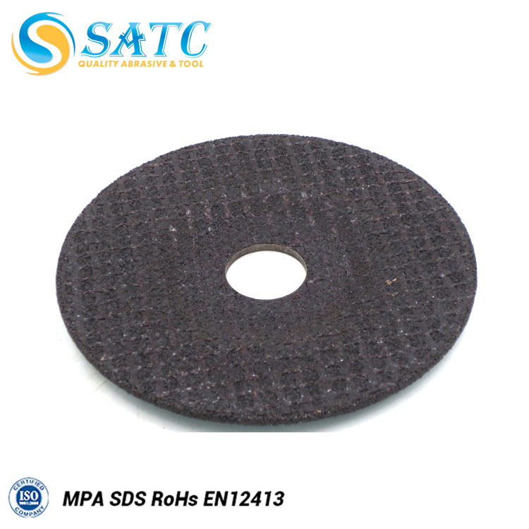 Abrasive cutting disc for stainless steel