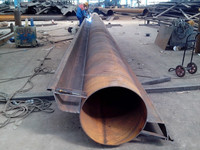 OZ Steel sheet piles supplier, combined wall with tubular piles, spirally welded steel pipes with Z type steel sheet piles