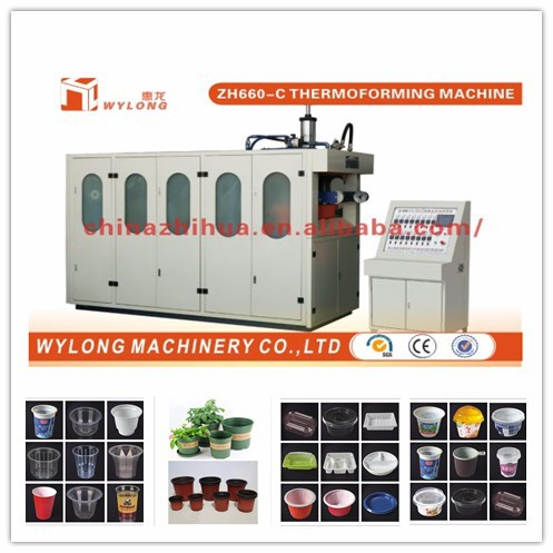 Coffee Capsule Thermoforming Machine