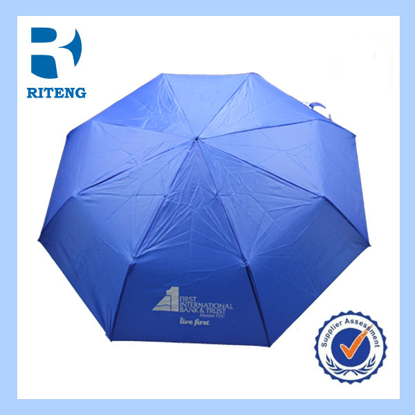 3 fold cheap custom print promotional umbrella