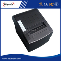 Latest Reliable Stable Usb / Parallel/ Serial/ Ethernet Port Optional Thermal Ticket Printer Used For Invoice