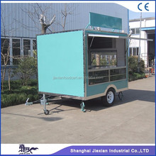 JX-FS250 Jiexian fashion style used food concession trailer mobile food kitchen trailer for sale