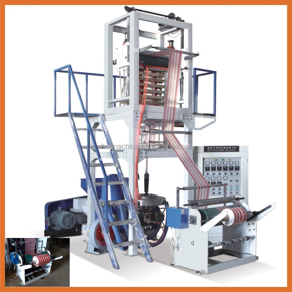 Plastic Film Blowing Machine Automatic Plastic Blow Film Machine
