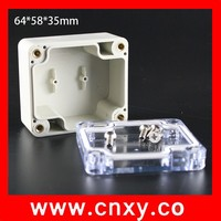electrical transparent lid box /power box waterproof IP65
