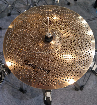 low volume cymbals set for gold color