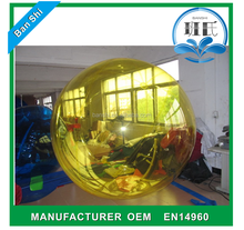 Factory direct sale inflatable water ball, inflatable water walking ball rental