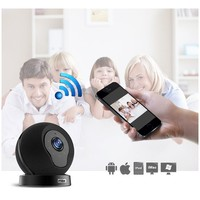 WiFi Alarm System Home Office Wireless Home Security Alarm System Ios Android APP Control web ip camera