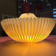 ihpaper creatively accordion paper lamp with CE Mark