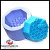 Factory OEM customize Colmena de Abeja 3D Chocolate molds cup cake molds Silicone soap molds